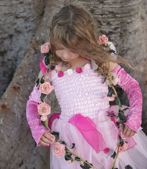 Now little princesses can look extra special and be warm in winter