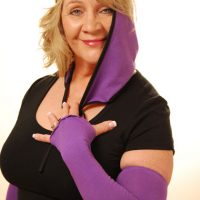 Purple driving sleeves
