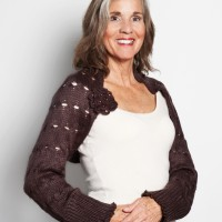 Mocha Knitted Shrug