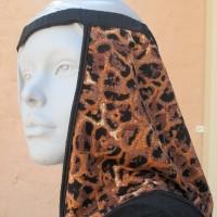 Sun Shade Brown & Black Leopard