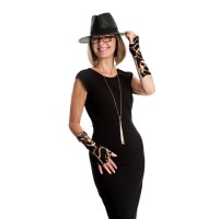 SLSL tawny elegance with hat-fashion-9922-2