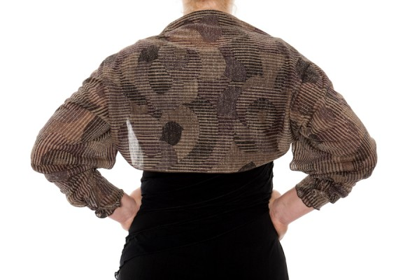 coffee metallic shrug back-1941